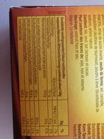Gaufres au miel - Nutrition facts - fr
