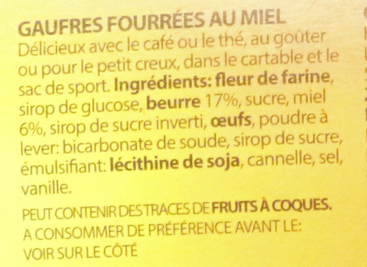 Meli - Ingredients