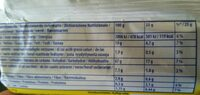TUC Original - Nutrition facts