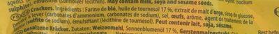 TUC Original - Ingrédients - fr