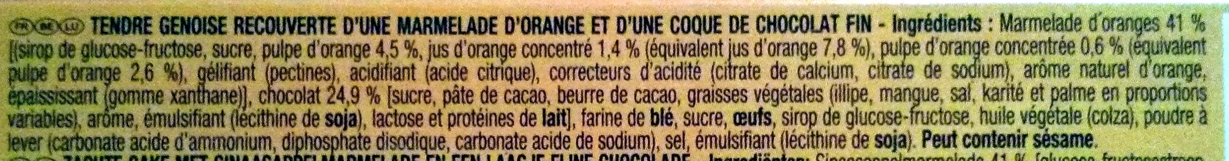 PiM's L'Original Orange - Ingredients