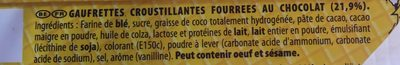 Cent Wafers Original 190G - Ingrediënten