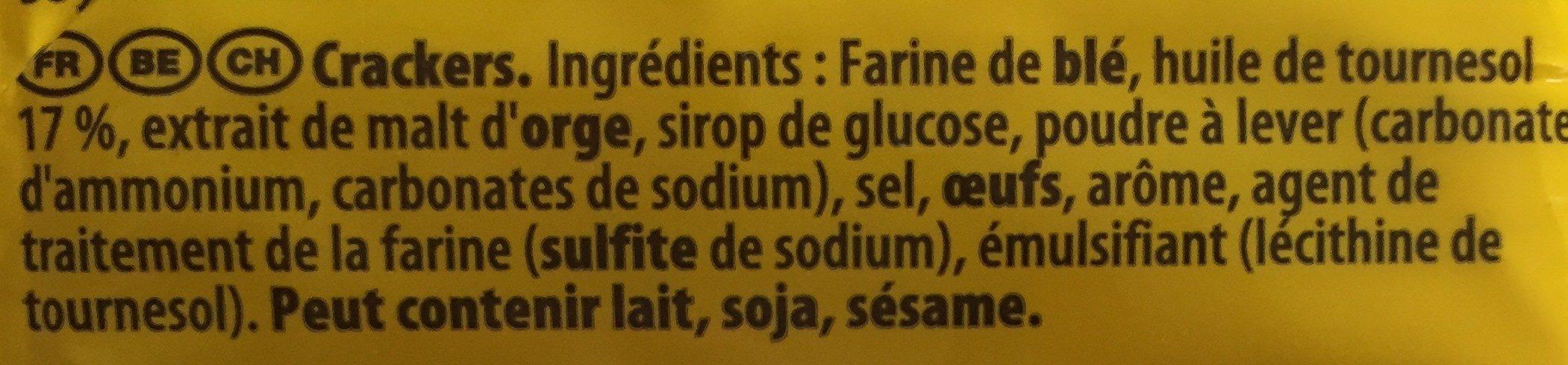 Tuc Original - Ingredienser