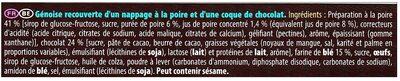 Pim's Poire - Ingrédients - fr