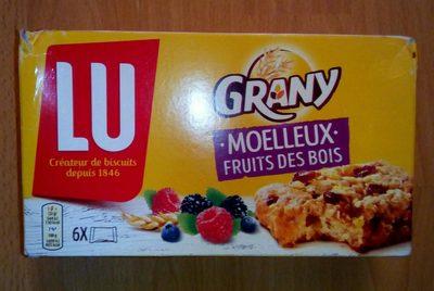 Moelleux fruits des bois - Produit - fr