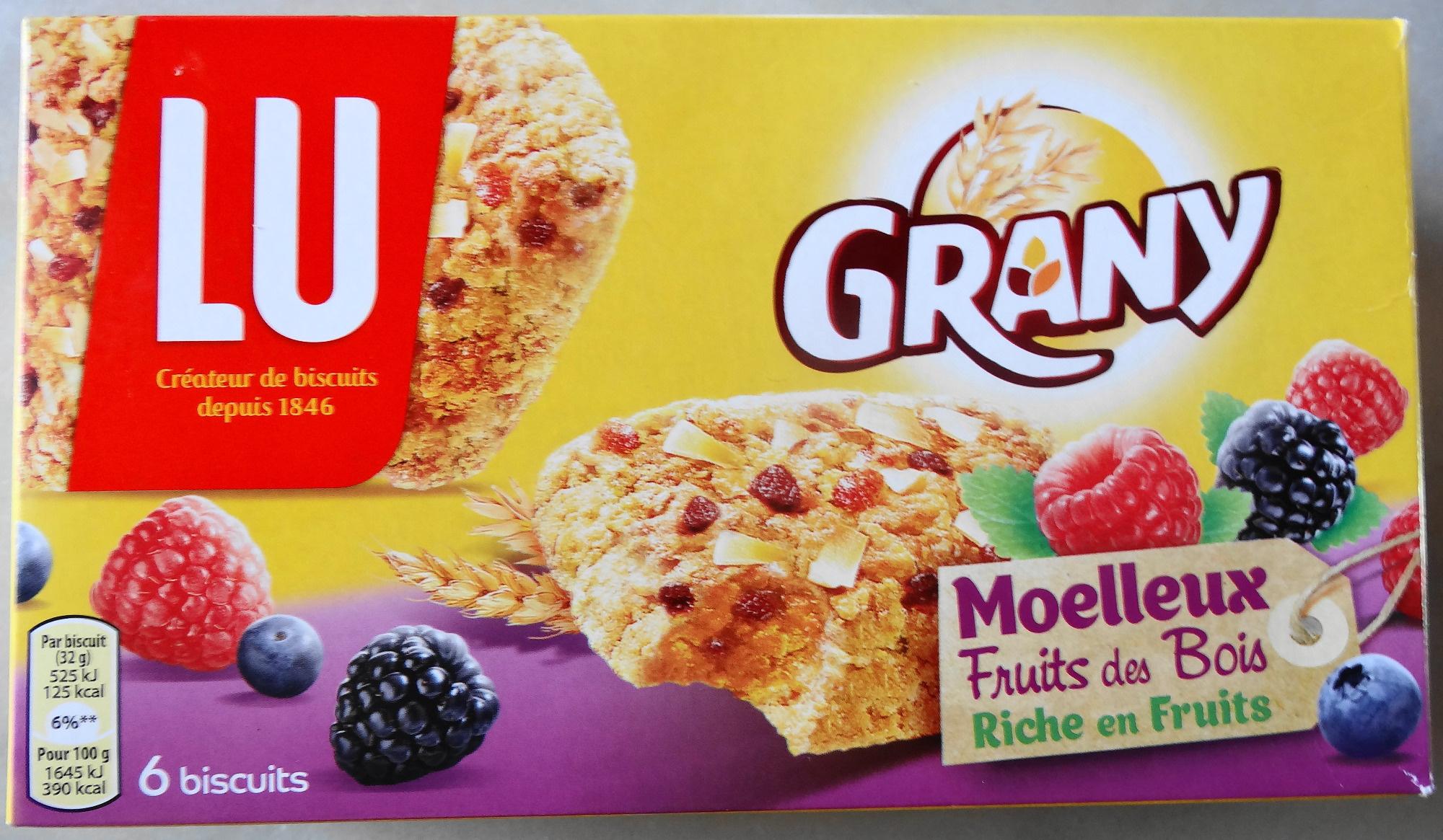 Grany, moelleux, fruit des bois, riche en fruits - Product - fr