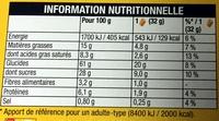 Grany, moelleux, fruit des bois, riche en fruits - Voedingswaarden