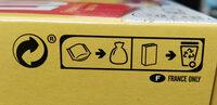 Grany, moelleux, fruit des bois, riche en fruits - Instruction de recyclage et/ou informations d'emballage - fr