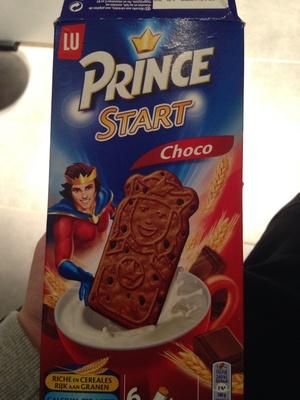 Prince Start Choco - Product