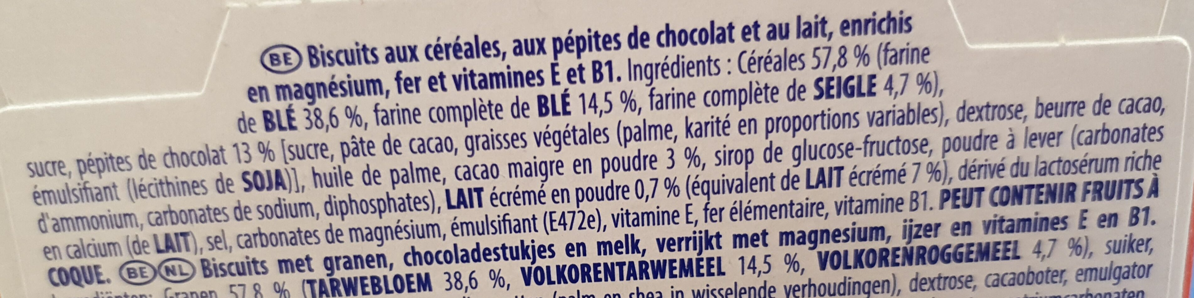 Prince Start Choco - Ingrédients - fr