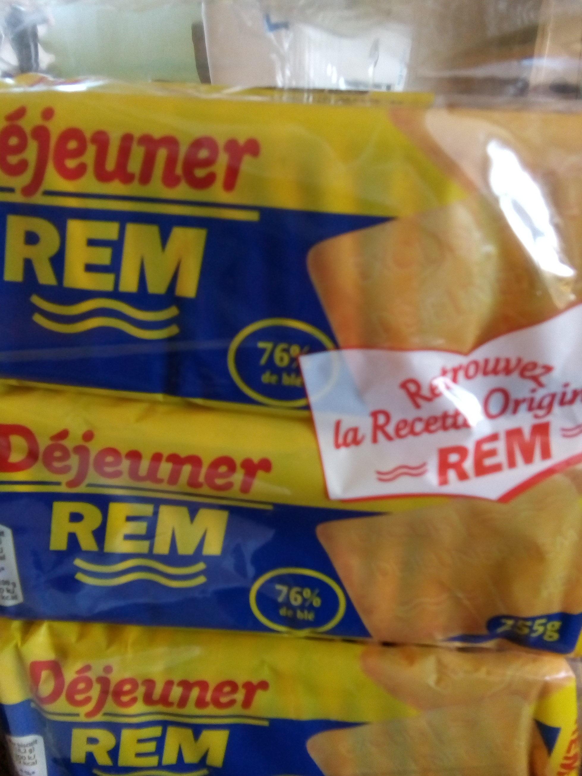 Déjeuner REM - Produit