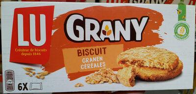 Grany Biscuit Céréales - Produit - fr