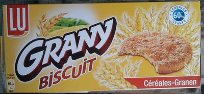 Grany Biscuit Céréales - Product - fr
