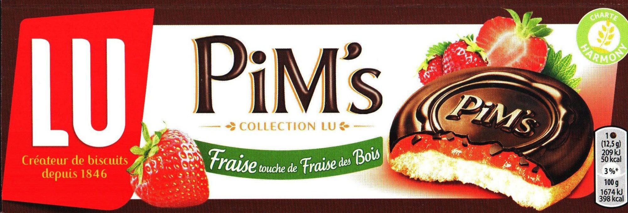 Pim's Fraise touche de Fraise des Bois - Product