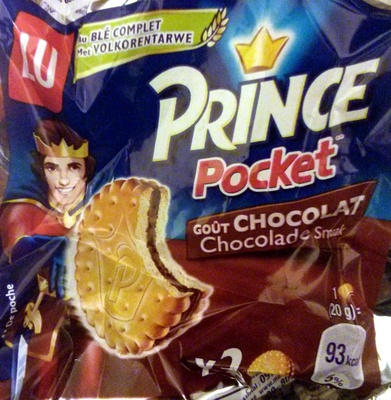 Prince Pocket goût chocolat - Product