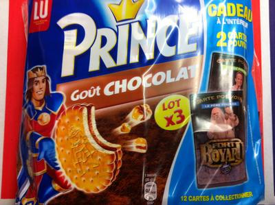 Prince Lu goût chocolat - Product