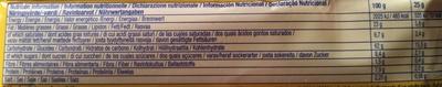 Tuc goût crème-oignon - Valori nutrizionali - fr
