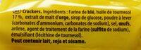 Tuc original - Ingredients - fr