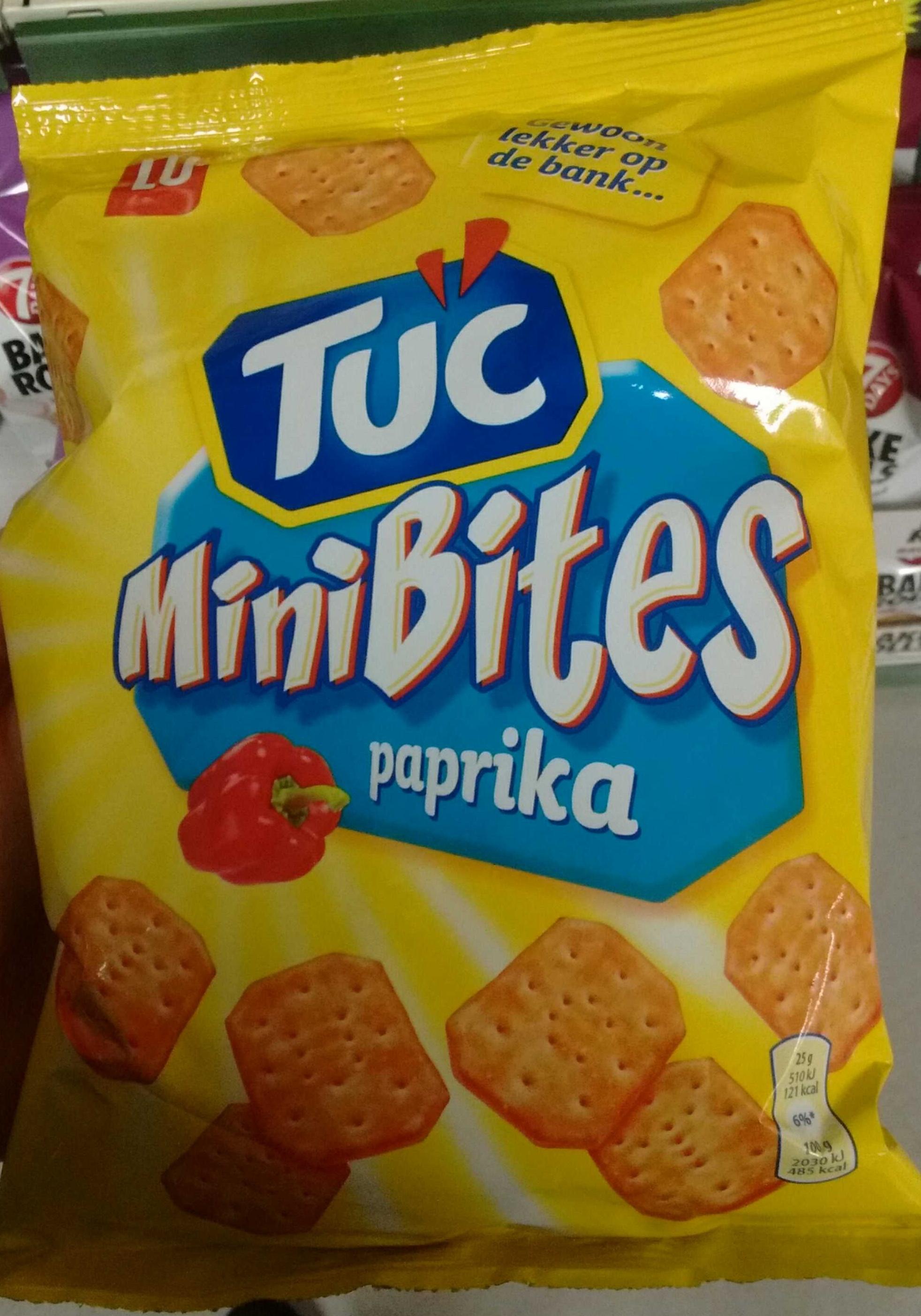 Mini Bites Paprika - Product - nl