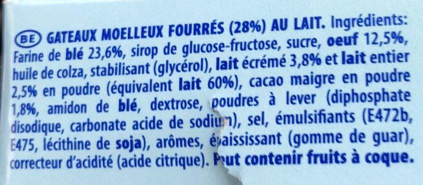 Lulu L'ourson - Ingrediënten - fr