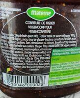 Confiture aux figues - Voedingswaarden - fr