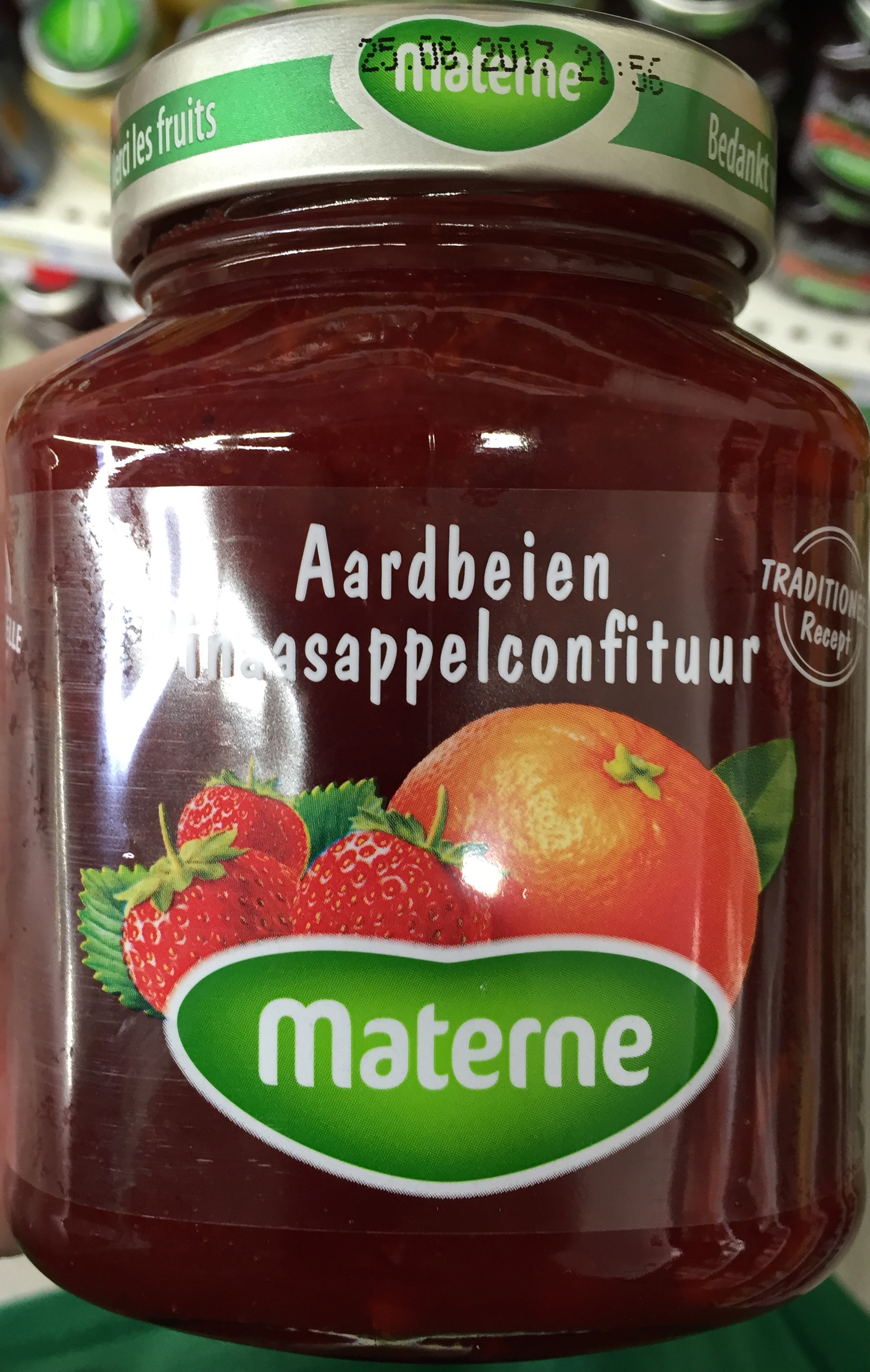 Aardbeien-sinaasappel confituur - Product - fr