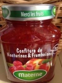 Confiture Nectarines & Framboises - Produit