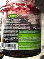 Confiture cerise - Ingrediënten - en