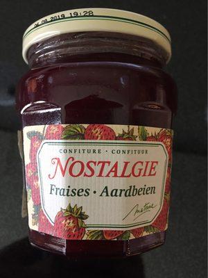 Confiture De Fraises, Nostalgie, 265 Grammes, Marque Materne - 1