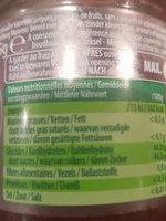 Confiture Cerise à Tartiner So Fruit - Voedingswaarden - fr