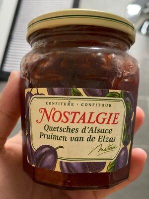 Confiture Quetsches d'Alsace - Product - fr