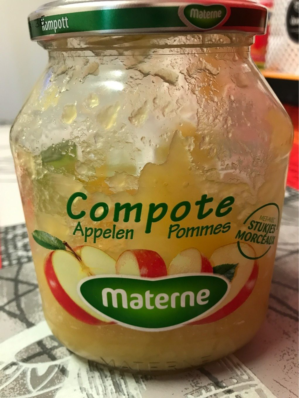 Compote de pomme avec morceaux - Product - fr