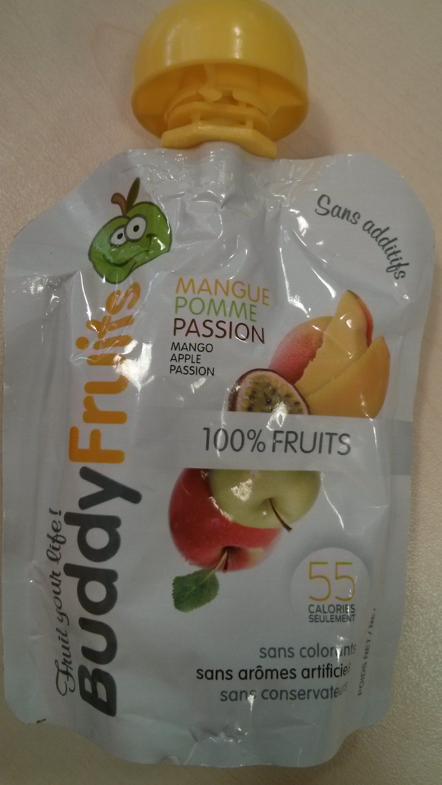 Buddy Fruits -  Mangue Pomme Passion - Product - fr