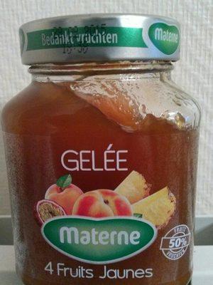 Gelée 4 fruits jaunes - Produit