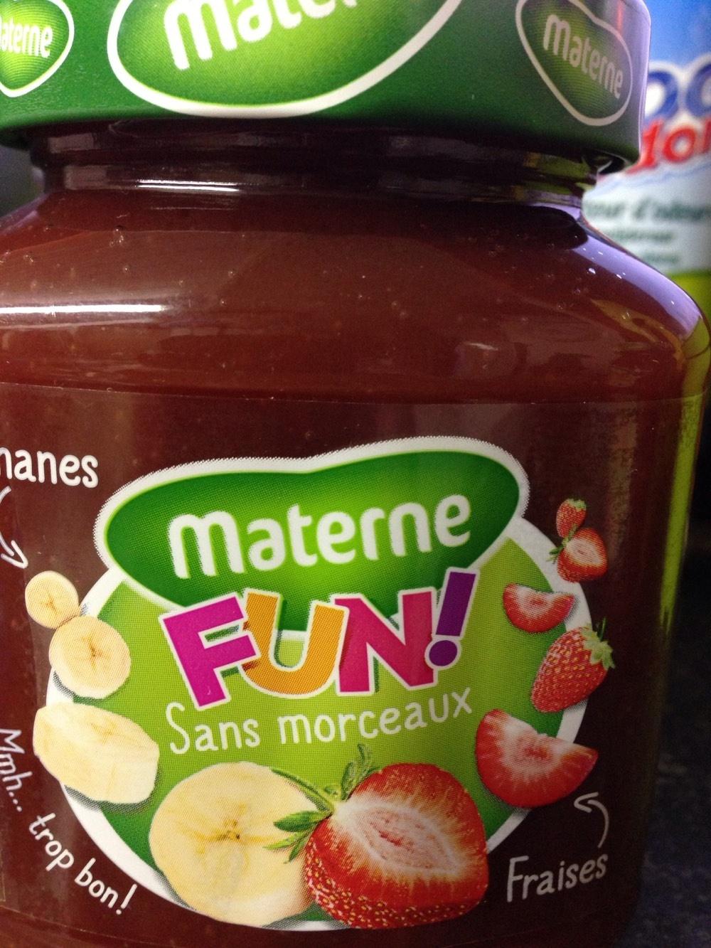 Fun ! Fraises et Bananes - Product