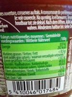 Fun ! Fraises et Bananes - Nutrition facts