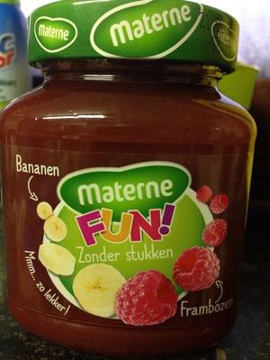 Confiture bananes-framboises - Product