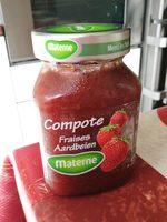 Compote fraises - Produit
