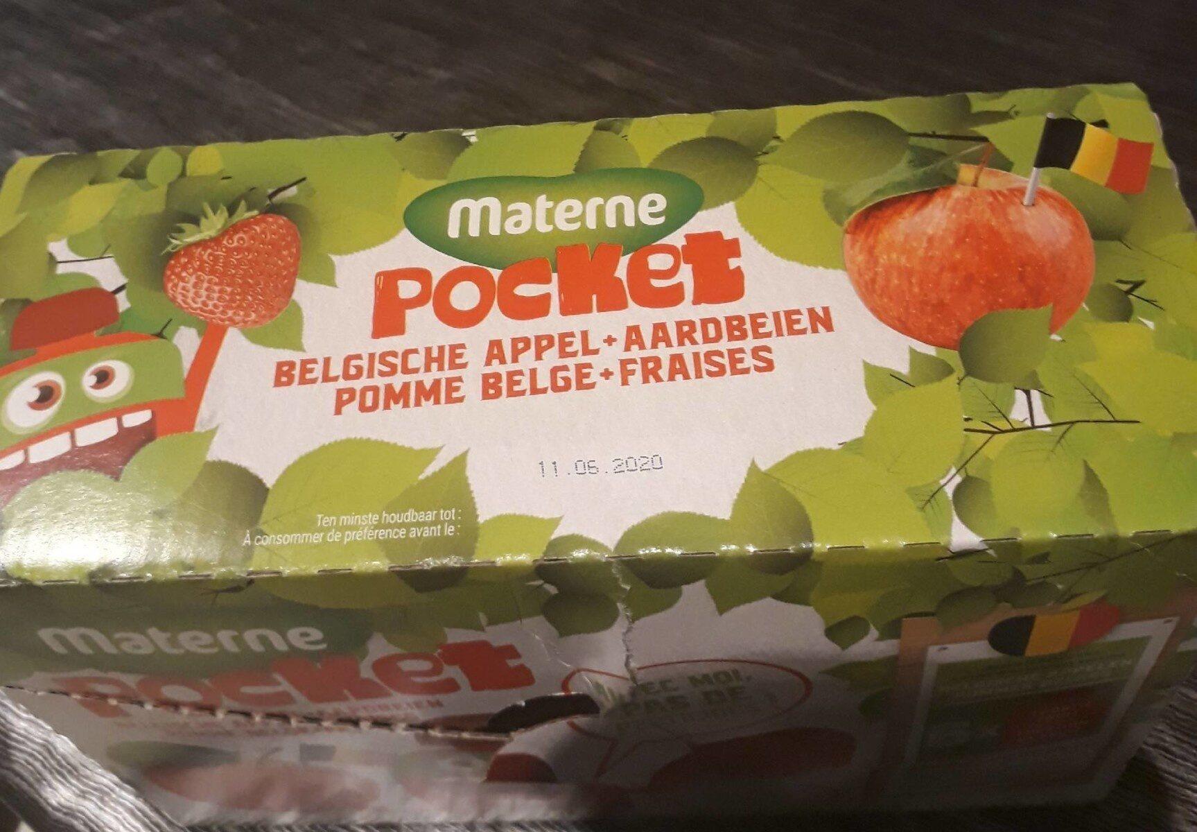 materne pocket fraises - Product - fr