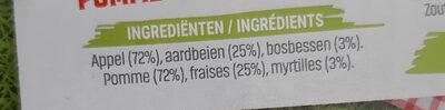 materne pocket fraises - Ingrediënten - fr
