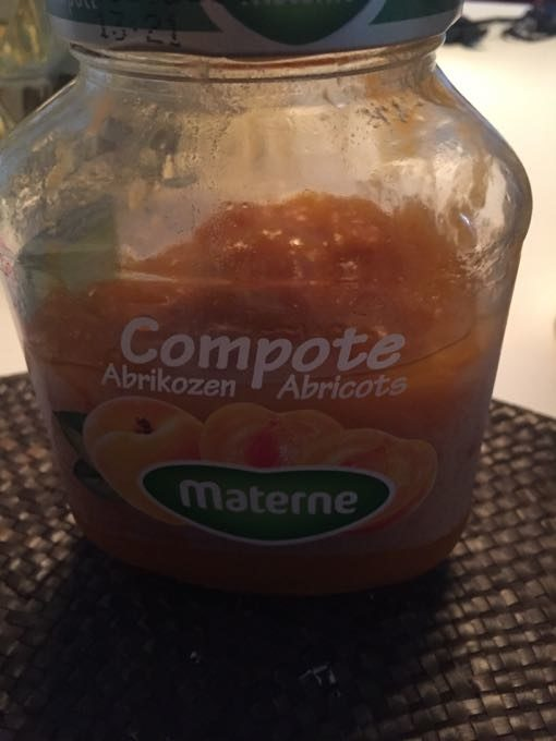 Compote D'abricots, 610 Grammes, Marque Materne - Product - fr
