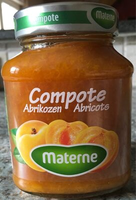 Compote D'abricots, 375 Grammes, Marque Materne - Product - fr