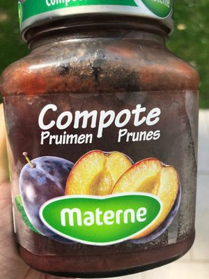 Compote Prunes MATERNE - Product - fr