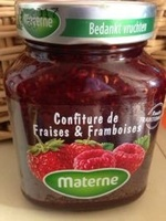 Confiture Fraises & Framboises - Product - fr