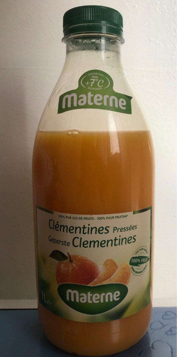 Jus de clementines pressées - Product - fr