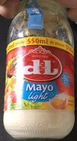 Mayonnaise light - Product - fr