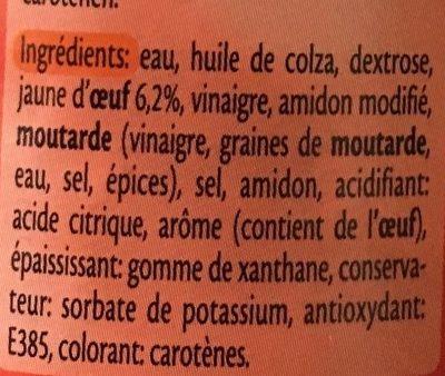 Mayonnaise light - Ingrediënten