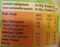 Mayon(n)aise avec 20% d'huile d'olive - Valori nutrizionali - fr