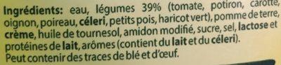 Délice de 8 légumes - Ingrediënten - fr