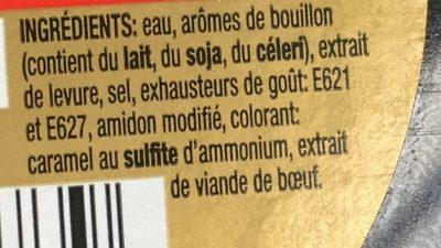 Oxo Bouillon - Ingrediënten - fr
